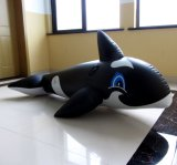 Inflable Ride-on ballena negra (PM063)