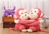 Plush Sweethearts Valentines Sitting Monkey Animal En71 Jouet