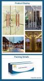 Traitement de porte en verre de l'acier inoxydable 201 et 304