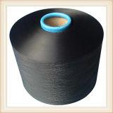 Filato nero di colore del poliestere