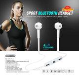 Aptidão que funciona auriculares de pouco peso confortáveis estereofónicos de Bluetooth da em-Orelha