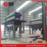 Prensa de filtro ahuecada automática hidráulica de placa de los PP para el carbón limpio