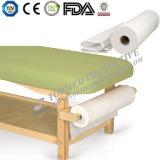 Examine o rolo de papel de cama para uso de SPA