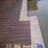 Matériau extérieur multiple du Decking WPC de plancher personnalisé par qualité