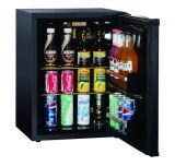 Frigorifero compatto nero con il frigorifero freddo diretto di tasto