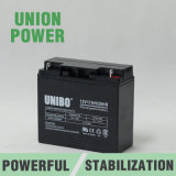 Bateria acidificada ao chumbo do AGM da bateria solar do UPS de VRLA 12V17ah