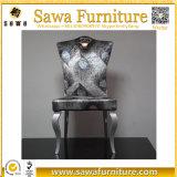 격상된 현대 스테인리스 프레임 라운지용 의자