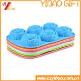Горячий продавая силикон качества еды инструмента торта выпечки отливает прессформу в форму Cakecup круглой формы