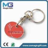 최신 판매 선전용 트롤리 동전 Keyholder