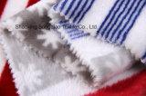 Flanela impressa do poliéster/tela coral do velo - 14447-3 1#