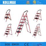 2016 Ladder van de Stap van de Ladder van het Staal van de Veiligheid de Vouwbare met 3 Stappen