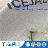 Tissu jacquard en fibre de jade à la glace Ice OEM pour matelas
