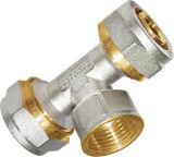 Бессвинцовый трехходовой шариковый клапан (мужчина и женщина)
