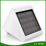 4 lâmpadas de parede LED Solar Powered LED Solar Waterproof Garden Light Solar Gutter Stair Lightings