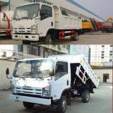판매를 위한 700p Isuzu 중국 쓰레기꾼 4X2 모래 팁 주는 사람 트럭 덤프 트럭
