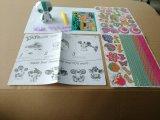 Niños juguetes de papel de bricolaje para los animales-Panda