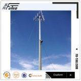 Qualité Pôle de télécommunication fait d'acier (25m 35m)