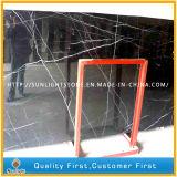 Blanco negro de China/losas de mármol de Nero Marquina para los azulejos de suelo