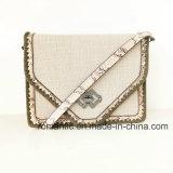 Borse tessute decorazione del merletto della signora Snake PU del fornitore di Guangzhou (NMDK-063001)