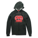 Custom Full Zipper Pullover Hoody com bordado Applique