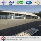 De Sinoacme Vervaardigde Hangaar van de Vliegtuigen van de Grote Spanwijdte van het Frame van de Geveltop