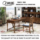 Современный новый дизайн цельной древесины письменный стол для использования в офисе (В809)