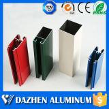 Profil en aluminium en aluminium anodisé par enduit enduit par poudre pour la porte de guichet