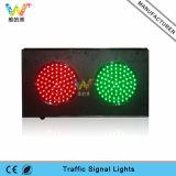 verde rosso di alluminio di 200mm semaforo personalizzato 8 pollici del LED