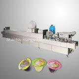 Relleno de la jalea de fruta y máquina del lacre para las tazas plásticas