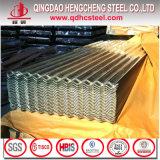 Couvrant ou clôturant la tôle d'acier ondulée