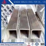 長方形のステンレス鋼の空の管