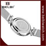 Los hombres Belbi Business reloj de cuarzo resistente al agua de Acero Inoxidable Relojes