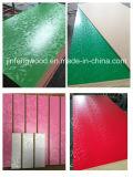 De Fabriek van China verkoopt direct de Raad van het Meubilair MDF van het Vernisje van 14mm en van 17mm Natuurlijke Rode Eiken