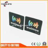 Hochleistungs- RFID auf Metallmarke mit dem Firmenzeichen gedruckt