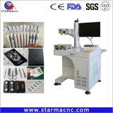 Macchina della marcatura del laser della fibra di Ipg di alta qualità di Starmacnc per metallo ed incisione di plastica dura