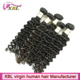 Hair Extensionsの機械Weft Malaysian Virgin Hair Sewn
