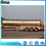 3車軸46m3アルミ合金のガソリンディーゼル油の燃料タンクのトレーラー