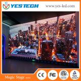 Schermo di visualizzazione di pubblicità elettronico esterno del LED di Mg7 P5.9