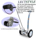 Cepillo de 180W DC Motor de engranaje helicoidal para vehículo Self-Balanced a dos ruedas y silla de ruedas