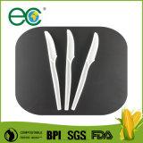 """7 Pleine taille """" jetables compostables kits Cpla 3, serviette, fourchette et couteau"""