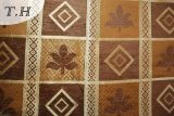 Ткань софы синеля Gemotric Polystery Сатинировкой Основанием