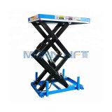 Fixe Table élévatrice à ciseaux hydraulique électrique