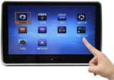 10.1  logement actif dans le lecteur de DVD APPUI TETE AVEC FM, IR, USB, TF, écran tactile