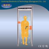 Serviço de Transporte do scâner corporal a pé através de detectores de Metal Gate (JH-5B-18 Zona)