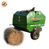 Tracteur conduit Presse à balles rondes d'alimentation de l'usine Mini Presse à balles de paille