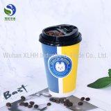 doppel-wandiger Kaffee-Papiercup des Schaumgummi-16oz