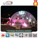 透過デザイン販売のための屋外展覧会のドームのテント