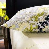 Ägyptische Baumwollausgangsbettwäscheduvet-Deckel-Bett-Blatt-Set