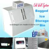 Coffre commercial d'entreposage dans la glace pour 8 livres de glace de congélation de sac
