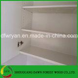 現代デザインメラミンMDFの木製の食器棚
